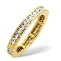 Eternity Ring 0.40CT Diamond 9K Yellow Gold
