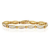 Everyday Bracelet 1.50CT Diamond 9K Yellow Gold