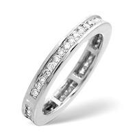 Eternity Ring 0.40CT Diamond 9K White Gold