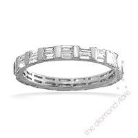 Eternity Ring  JESSICA PLATINUM DIAMOND 1.00CT H/SI