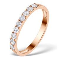 Vivara Collection 0.55ct Diamond and 9K Rose Gold Ring E5938