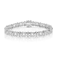 Everyday Bracelet 0.50CT Diamond 9K White Gold