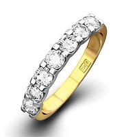 Chloe 18K Gold Diamond Eternity Ring 1.50CT H/SI