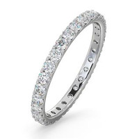 Eternity Ring  ERIN PLATINUM DIAMOND 1.00CT G/VS