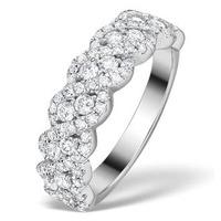 Diamond Weave Ring 1CT H/Si in 18K Gold - N4545Y
