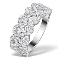 Diamond Weave Ring 1.20CT H/Si in 18K Gold - N4546Y