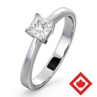 Lauren Platinum Canadian Diamond Engagement Ring 0.50CT G/VS2