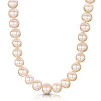 8mm Freshwater Pearl Amelie 16 Inch Necklace with 925 Silver Clasp