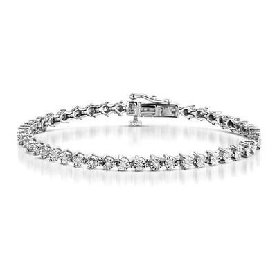 0.25ct Diamond and Silver Bracelet - UD3240