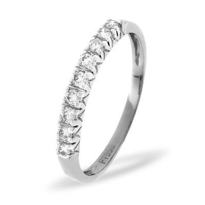 Platinum and Diamond Eternity Ring 0.29CT