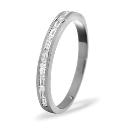 LILY PLATINUM Diamond ETERNITY RING 0.50CT H/SI