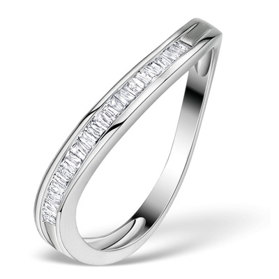 Diamond 0.24ct 9K White Gold Ring - RTC-E4018