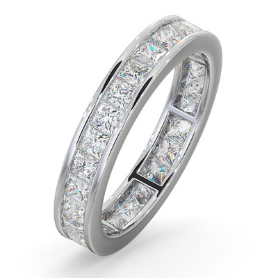 Eternity Ring Lauren Platinum Diamond 2.00ct G/Vs
