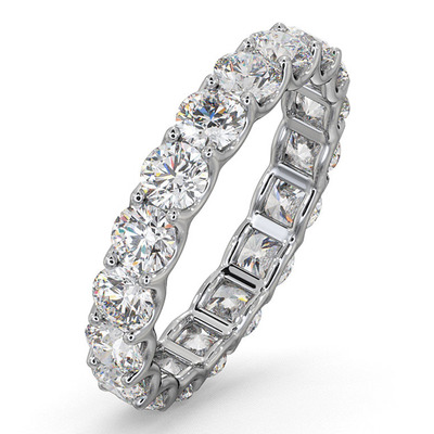 Eternity Ring Chloe 18K White Gold Diamond 3.00ct H/Si