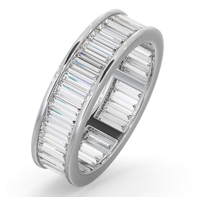 Eternity Ring Grace Platinum Diamond 3.00ct G/Vs