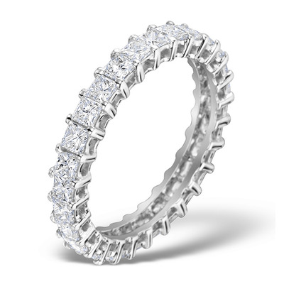 Eternity Ring Lauren Diamond 2.00ct and Platinum