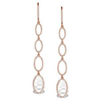 Vivara Collection 0.81ct Diamond and 9K Rose Gold Earrings H4561