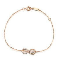 Vivara Collection 0.12ct Diamond and 9K Rose Gold Bracelet I3645