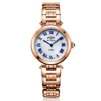 Rotary Les Originales Lucerne Mother of Pearl Rose Gold Ladies Watch