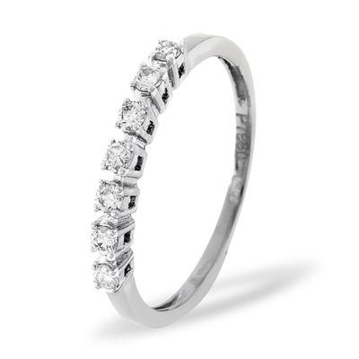 Platinum and Diamond 0.29CT Eternity Ring
