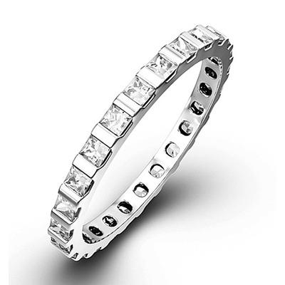 Eternity Ring Olivia Platinum Diamond 1.00ct H/Si