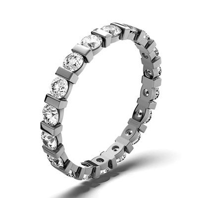 Eternity Ring Hannah Platinum Diamond 1.00ct G/Vs