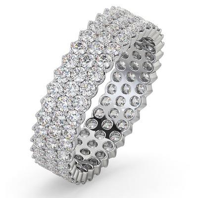 Eternity Ring Jasmine Platinum Diamond 2.00ct G/Vs