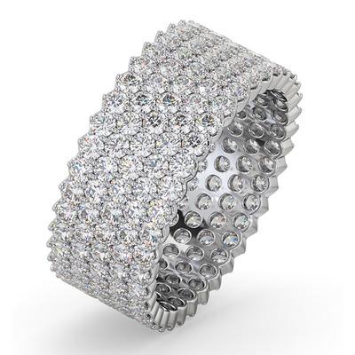 Eternity Ring Jasmine Platinum Diamond 3.00ct G/Vs