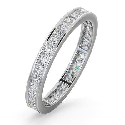 Eternity Ring Lauren Platinum Diamond 1.00ct H/Si