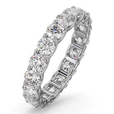 Eternity Ring Chloe Platinum Diamond 3.00ct G/Vs
