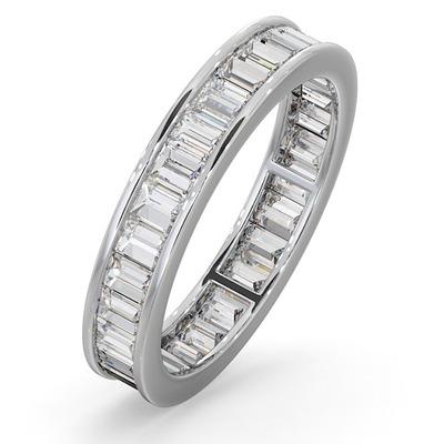 Eternity Ring Grace Platinum Diamond 1.50ct G/Vs