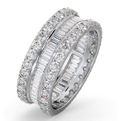 Eternity Ring Katie Platinum Diamond 3.00ct G/Vs